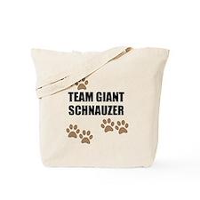 Team Giant Schnauzer Tote Bag