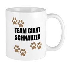 Team Giant Schnauzer Mugs