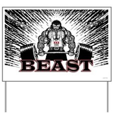 The Beast Poster Yard Sign