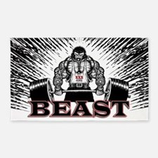 The Beast Poster 3'x5' Area Rug