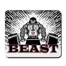 The Beast Poster Mousepad
