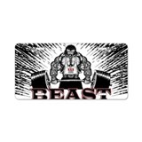 Bodybuilding License Plates