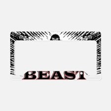 The Beast Poster License Plate Holder