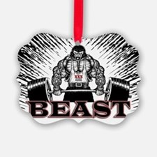 The Beast Poster Ornament