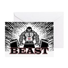 The Beast Poster Greeting Card