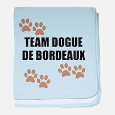 Team Dogue de Bordeaux baby blanket