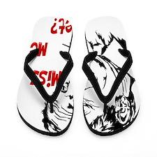 MissMeYetblackTrans Flip Flops
