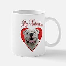 Bulldog Valentine Mug