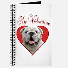 Bulldog Valentine Journal