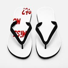 MissMeYetwhiteTrans Flip Flops
