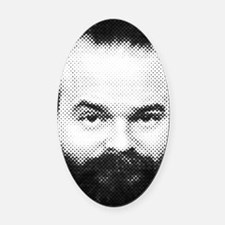fear_the_beard Oval Car Magnet