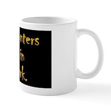 dark_rect Small Mug