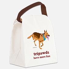 Tripawds Have More Fun Three Legg Canvas Lunch Bag