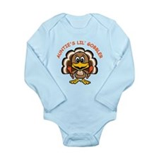 Auntie's Lil' Gobbler Long Sleeve Infant Bodysuit