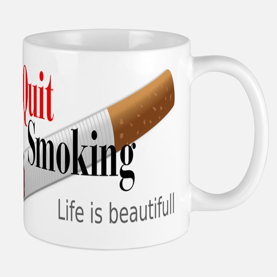 QUIT SMOKING Mugs