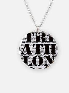 Triathlon1 Necklace