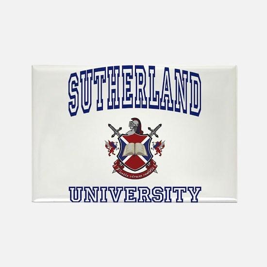 SUTHERLAND University Rectangle Magnet