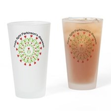 pd wreath help fight Drinking Glass