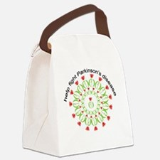 pd wreath help fight Canvas Lunch Bag