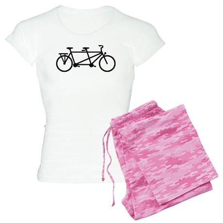 Tandem Bicycle Women's Light Pajamas