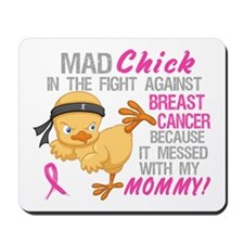 Mad Chick 3L Breast Cancer Mousepad