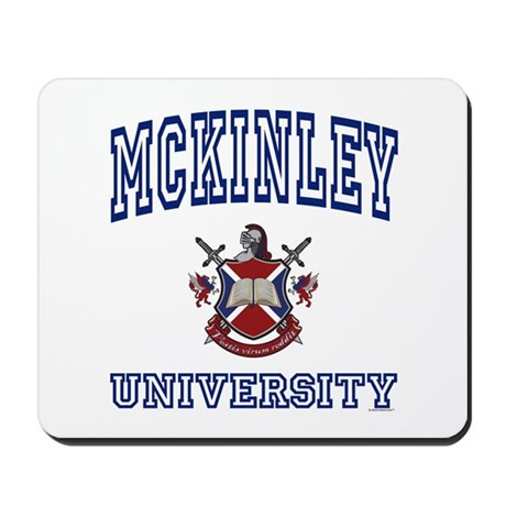 MCKINLEY University Mousepad