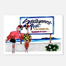 Southernmost Flamingo Postcards (Package of 8)