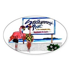 Southernmost Flamingo Decal