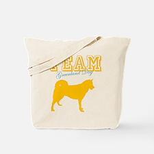 Greenland Dog Tote Bag