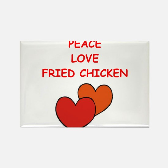 fried chicken Magnets
