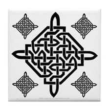 Celtic Diamond Decorative Tile