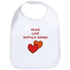 buffalo wings Bib