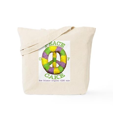 Peace of 'King' cake Tote Bag