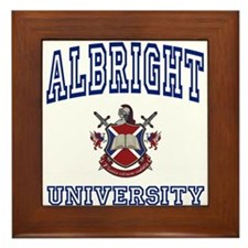 ALBRIGHT University Framed Tile