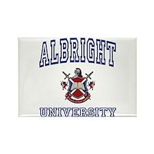 ALBRIGHT University Rectangle Magnet