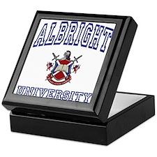 ALBRIGHT University Keepsake Box