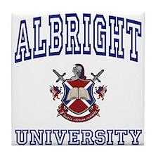ALBRIGHT University Tile Coaster