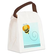 Bee Hop Bumble Bee Canvas Lunch Bag