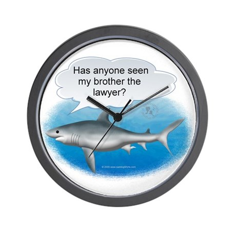 Brother the Lawyer Wall Clock