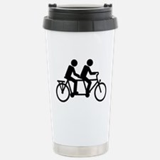 Tandem Bicycle bike Travel Mug