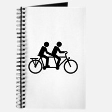 Tandem Bicycle bike Journal