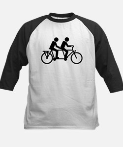 Tandem Bicycle bike Tee
