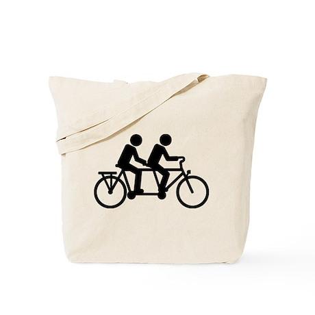 Tandem Bicycle bike Tote Bag