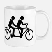 Tandem Bicycle bike Mug