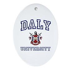 DALY University Oval Ornament
