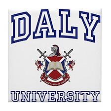 DALY University Tile Coaster