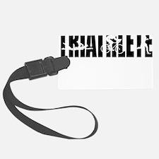 Triathlete-Women-Icon-Knockout Luggage Tag