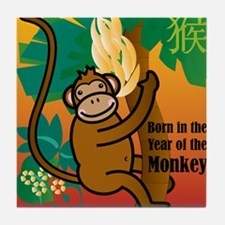 MonkeyTshirt Tile Coaster
