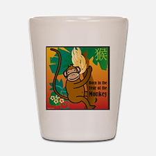MonkeyTshirt Shot Glass