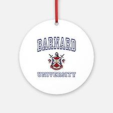 BARNARD University Ornament (Round)